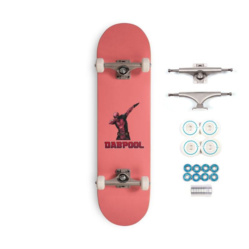 Dabpool Accessories Skateboard by Jarett Walen's Happy Fun Shop of Joy and Pretty Pi