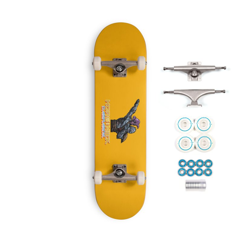 Korg & Miek - Dabbing Pals Accessories Skateboard by Jarett Walen's Happy Fun Shop of Joy and Pretty Pi