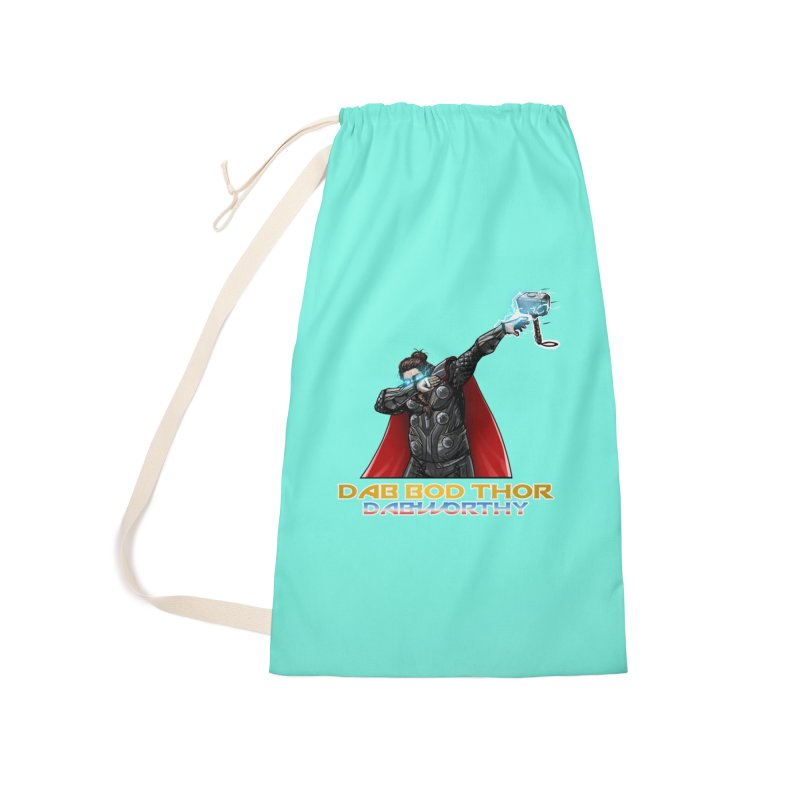 Dab-Bod Thor in the house! WORTHY! Accessories Bag by Jarett Walen's Happy Fun Shop of Joy and Pretty Pi
