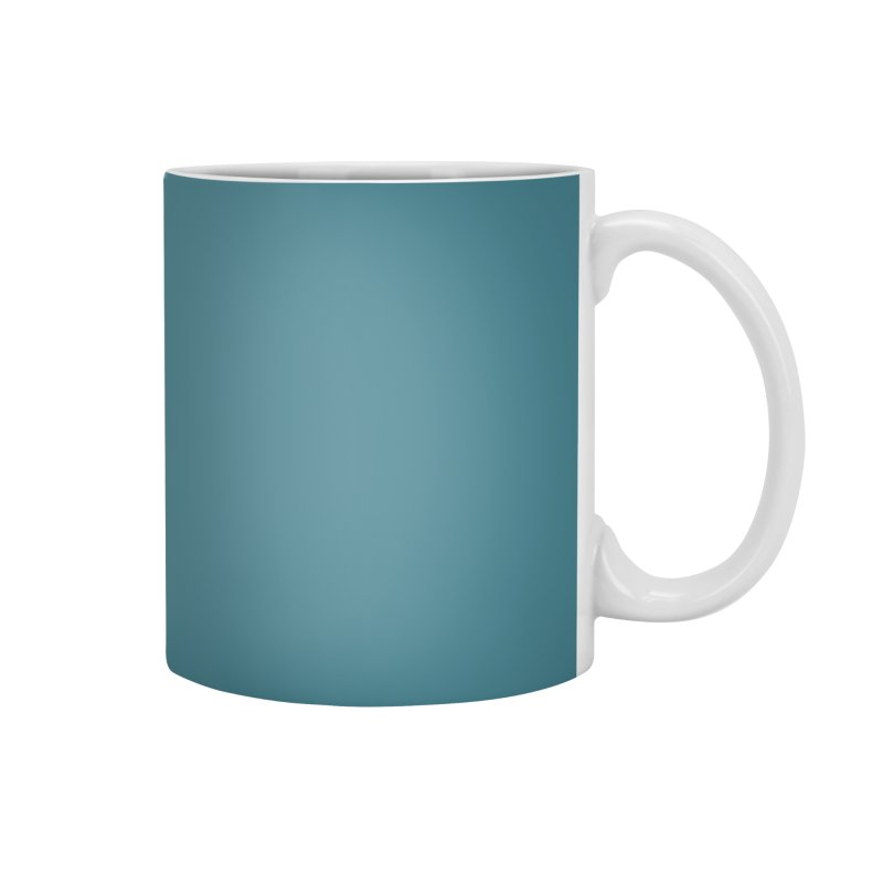 The Wait of Gravity by Jarett Walen - White Logo Accessories Mug by Jarett Walen's Happy Fun Shop of Joy and Pretty Pi