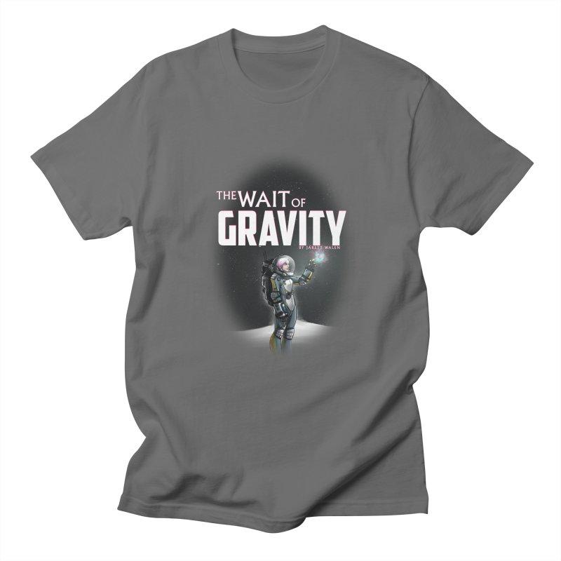 The Wait of Gravity by Jarett Walen - Cover Fade Men's T-Shirt by Jarett Walen's Happy Fun Shop of Joy and Pretty Pi
