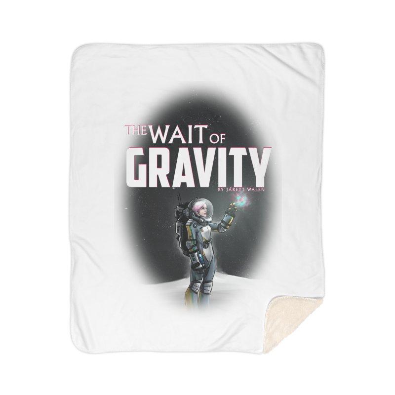 The Wait of Gravity by Jarett Walen - Cover Fade Home Blanket by Jarett Walen's Happy Fun Shop of Joy and Pretty Pi