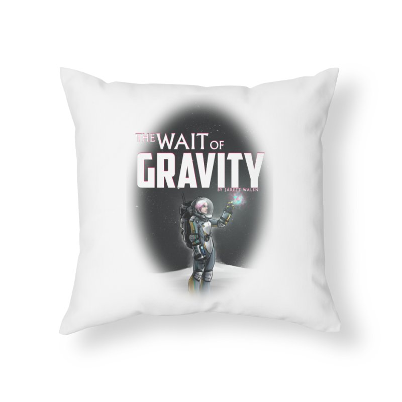 The Wait of Gravity by Jarett Walen - Cover Fade Home Throw Pillow by Jarett Walen's Happy Fun Shop of Joy and Pretty Pi