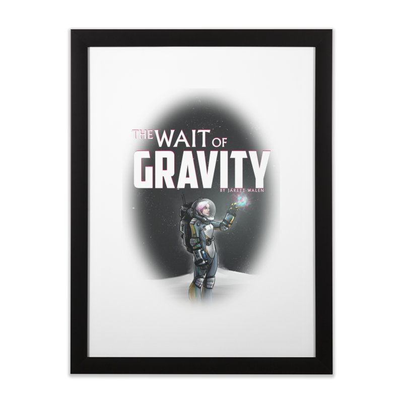 The Wait of Gravity by Jarett Walen - Cover Fade Home Framed Fine Art Print by Jarett Walen's Happy Fun Shop of Joy and Pretty Pi