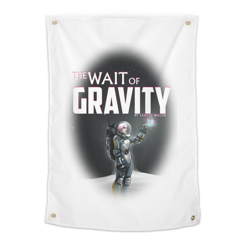 The Wait of Gravity by Jarett Walen - Cover Fade Home Tapestry by Jarett Walen's Happy Fun Shop of Joy and Pretty Pi