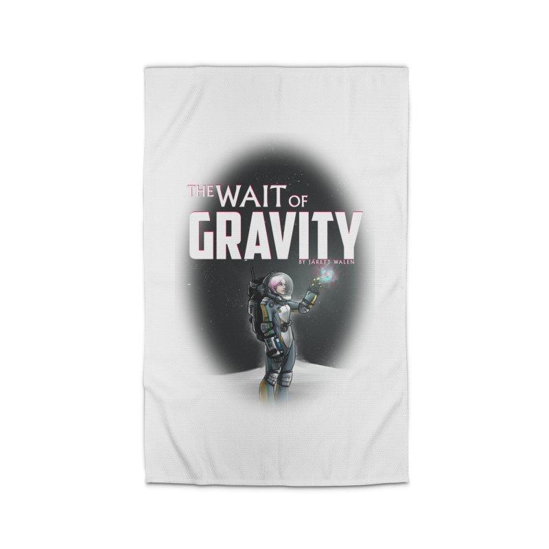 The Wait of Gravity by Jarett Walen - Cover Fade Home Rug by Jarett Walen's Happy Fun Shop of Joy and Pretty Pi