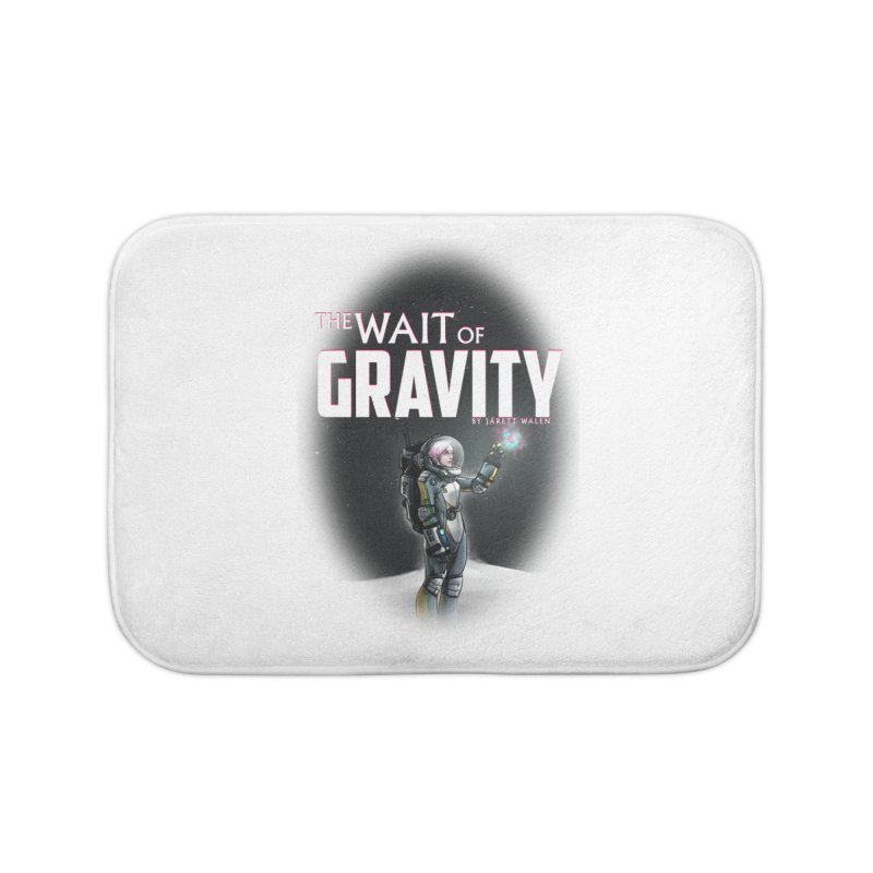 The Wait of Gravity by Jarett Walen - Cover Fade Home Bath Mat by Jarett Walen's Happy Fun Shop of Joy and Pretty Pi