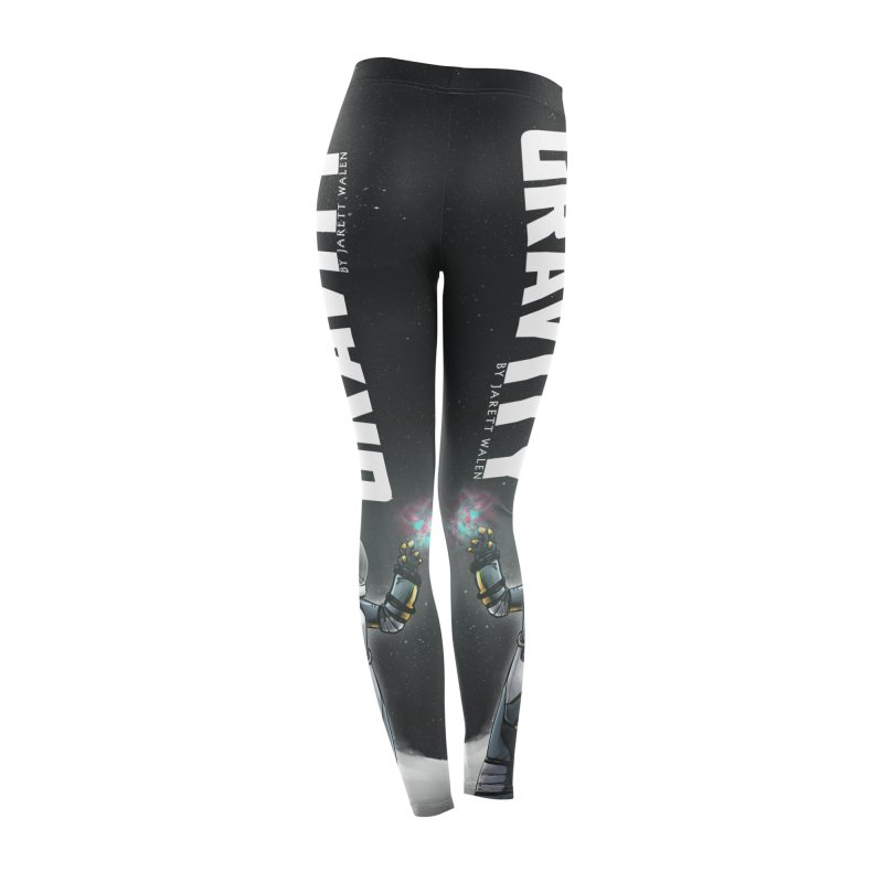 The Wait of Gravity Leggings Women's Bottoms by Jarett Walen's Happy Fun Shop of Joy and Pretty Pi