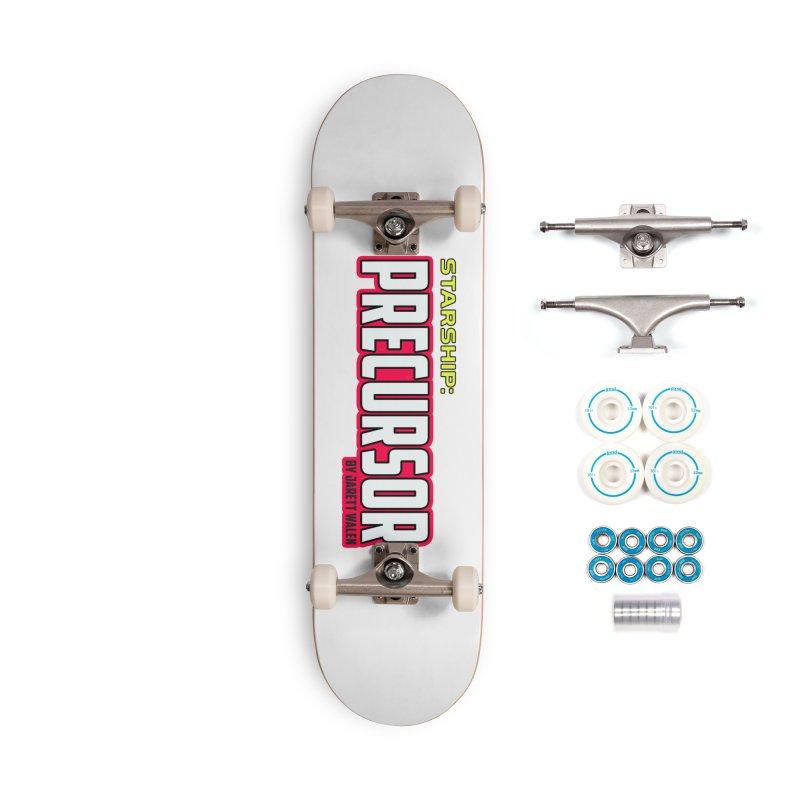 Starship: Precursor by Jarett Walen - Logo Accessories Skateboard by Jarett Walen's Happy Fun Shop of Joy and Pretty Pi
