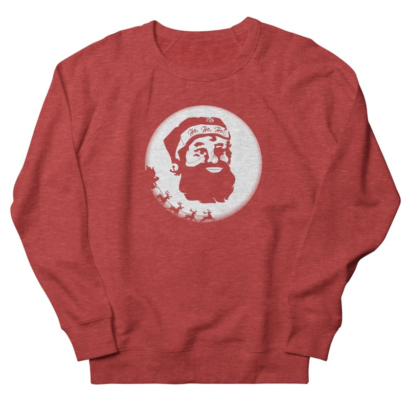 Santa Cat Men's Sweatshirt by thejauntybadger's Artist Shop