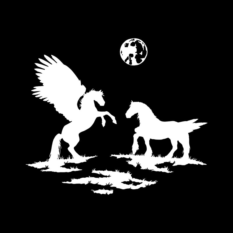 Pegasus None  by thejauntybadger's Artist Shop