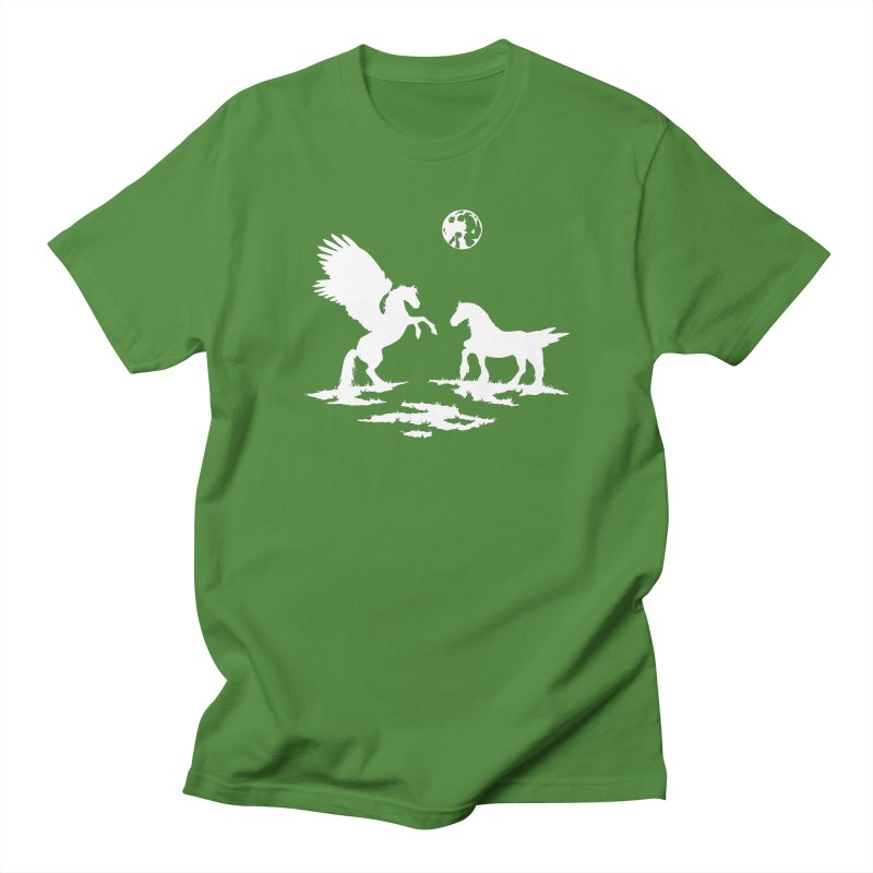 Pegasus Men's T-shirt by thejauntybadger's Artist Shop