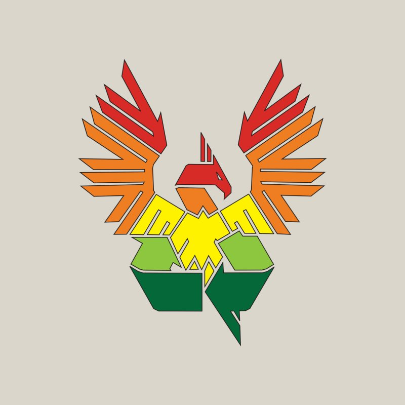 Recycle: Phoenix by thejauntybadger's Artist Shop