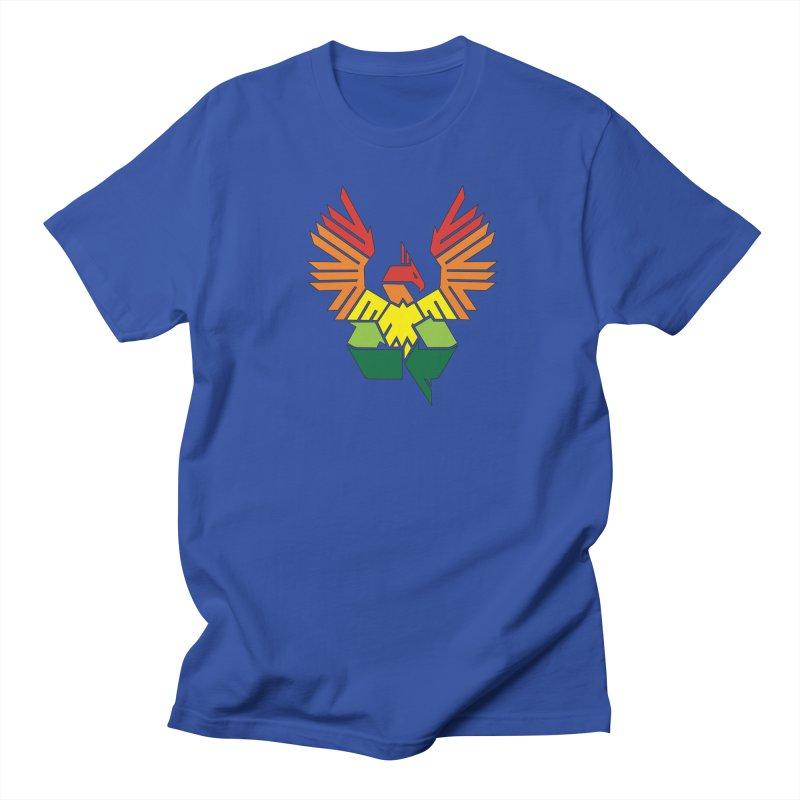 Recycle: Phoenix Men's T-shirt by thejauntybadger's Artist Shop