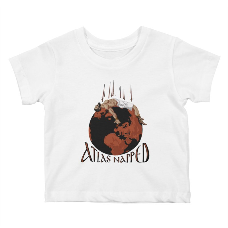Atlas Napped Kids Baby T-Shirt by thejauntybadger's Artist Shop
