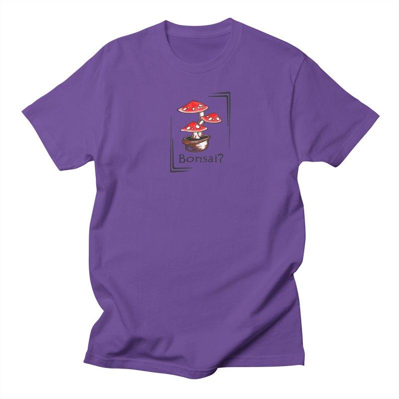 Bonsai? Men's T-shirt by thejauntybadger's Artist Shop