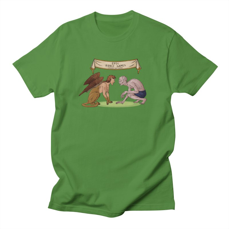 Riddle Game: Masters Level Men's T-shirt by thejauntybadger's Artist Shop