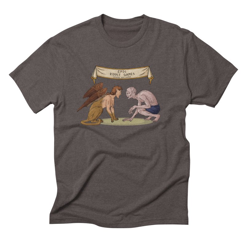 Riddle Game: Masters Level Men's Triblend T-shirt by thejauntybadger's Artist Shop