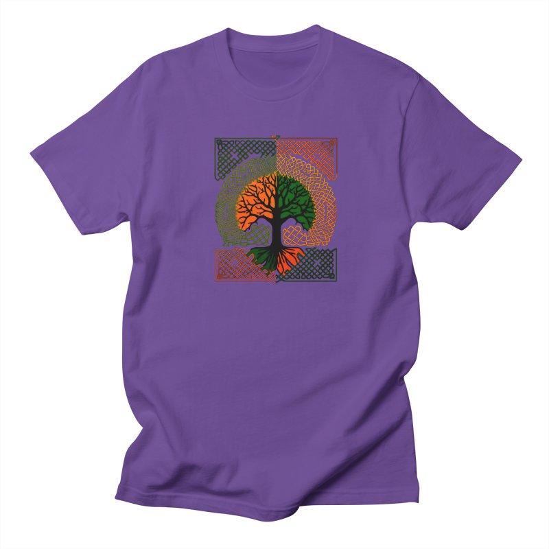 Celtic Tree Men's T-shirt by thejauntybadger's Artist Shop