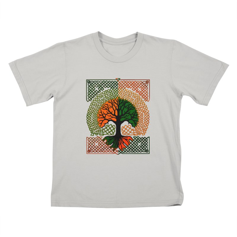 Celtic Tree Kids T-Shirt by thejauntybadger's Artist Shop