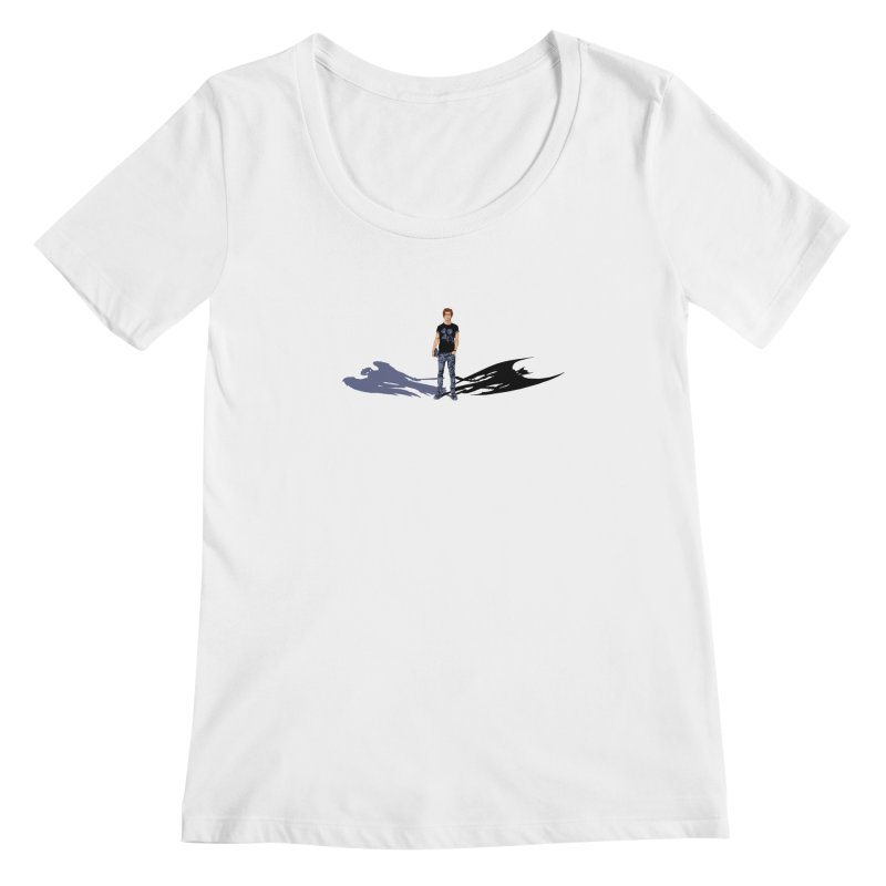 Shadows of Ourselves Women's Scoopneck by thejauntybadger's Artist Shop