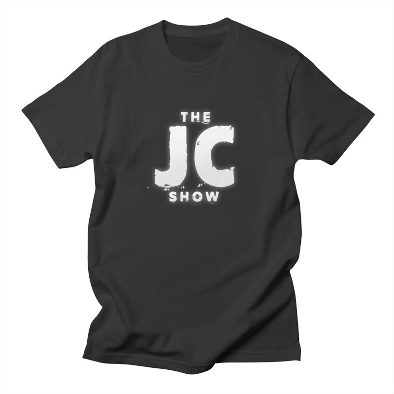 The JC Show Logo in Men's Regular T-Shirt Smoke by thejcshow's Artist Shop