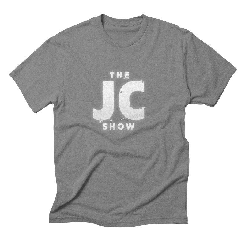 The JC Show Logo Men's Triblend T-Shirt by thejcshow's Artist Shop