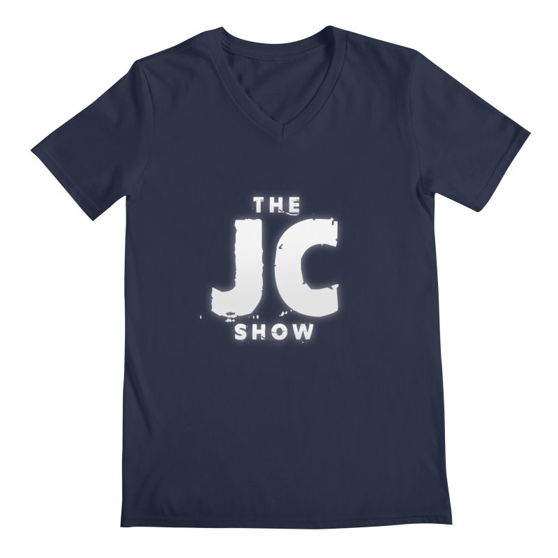 The JC Show Logo Men's Regular V-Neck by thejcshow's Artist Shop