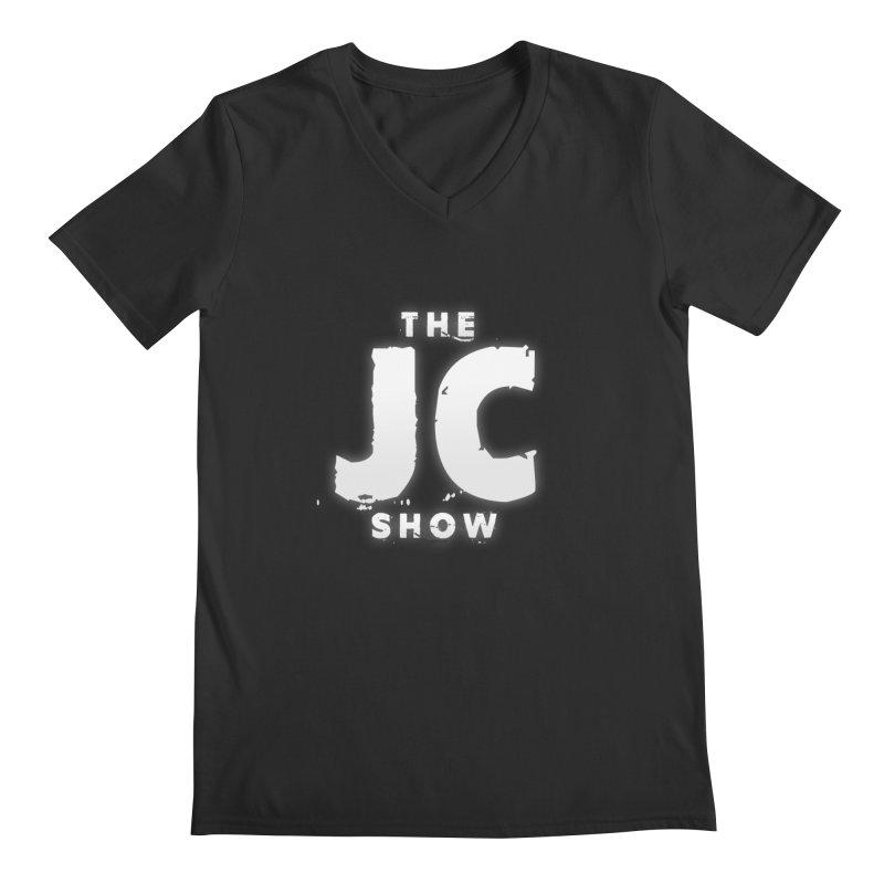 The JC Show Logo Men's Regular V-Neck by thejcshow's Artist Shop