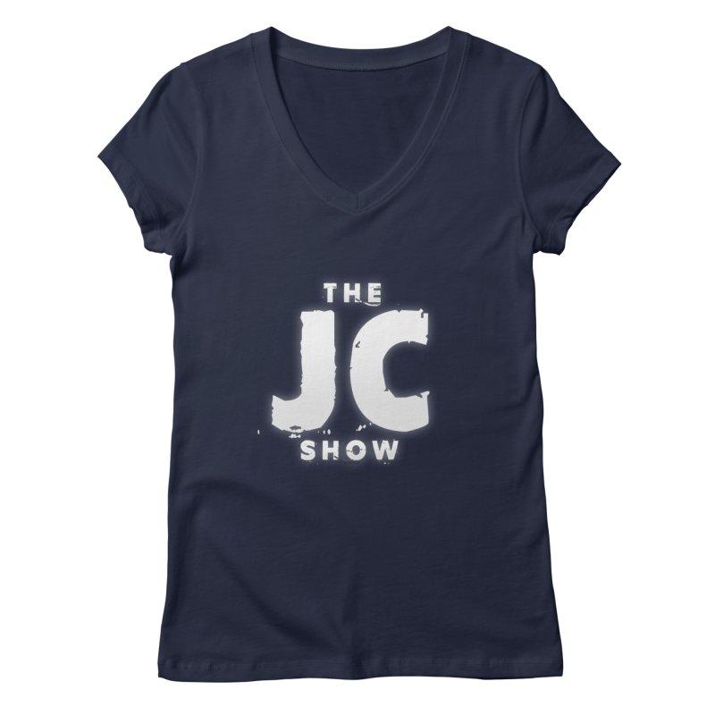 The JC Show Logo Women's Regular V-Neck by thejcshow's Artist Shop