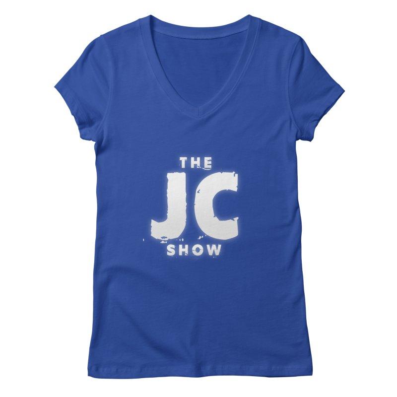 The JC Show Logo Women's Regular V-Neck by thejcshow's Artist Shop