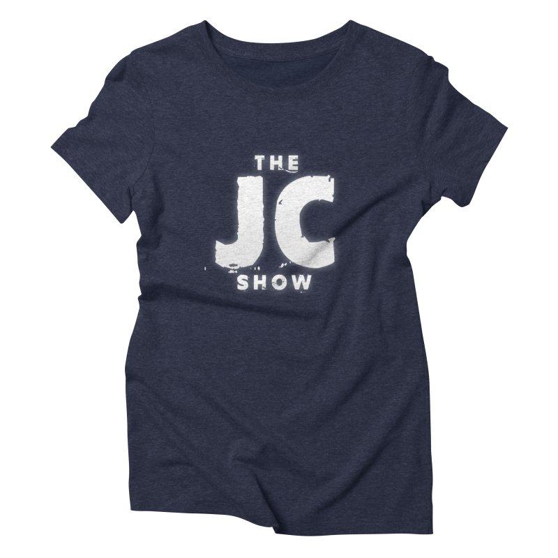 The JC Show Logo Women's Triblend T-Shirt by thejcshow's Artist Shop