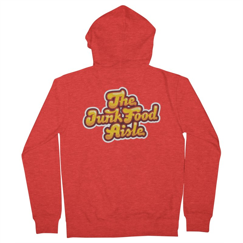 The Junk Food Aisle Men's Zip-Up Hoody by The Junk Food Aisle Merch Shop