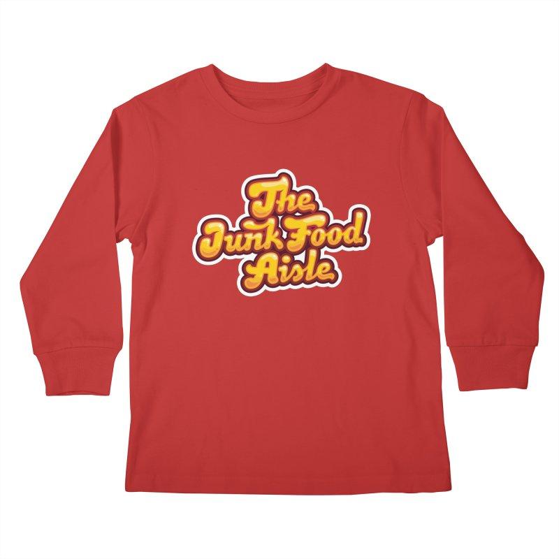The Junk Food Aisle Kids Longsleeve T-Shirt by The Junk Food Aisle Merch Shop