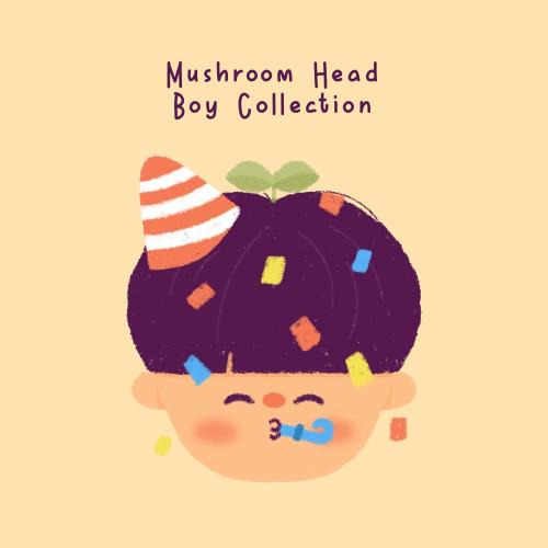 Mushroom-Head-Boy-Collection