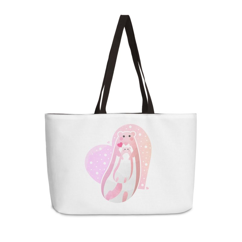 Happy Mother's Day Accessories Weekender Bag Bag by theladyernestember's Artist Shop