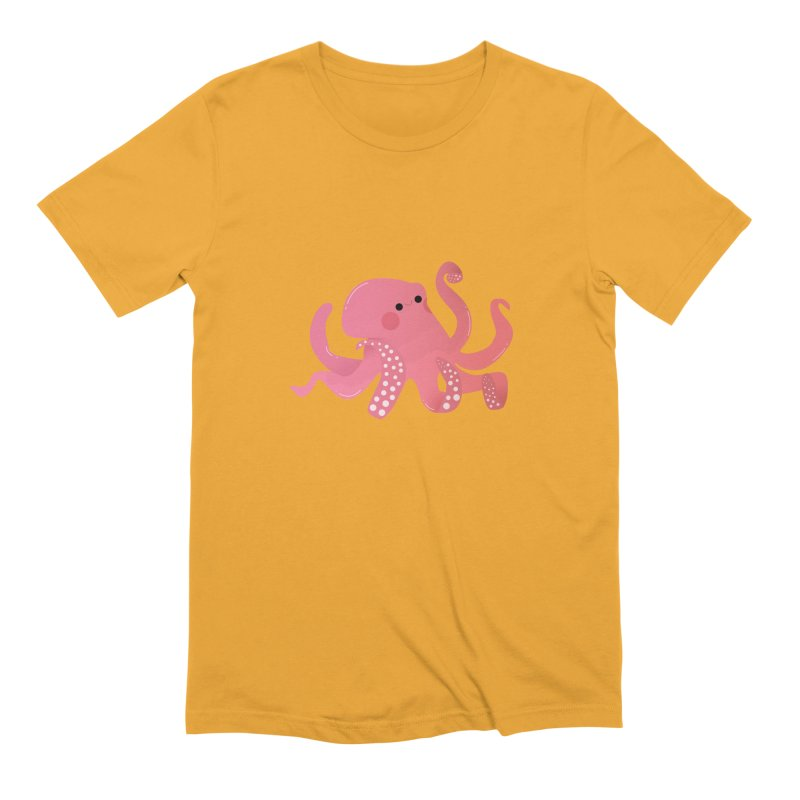 Mermay, Octopus Men's Extra Soft T-Shirt by theladyernestember's Artist Shop