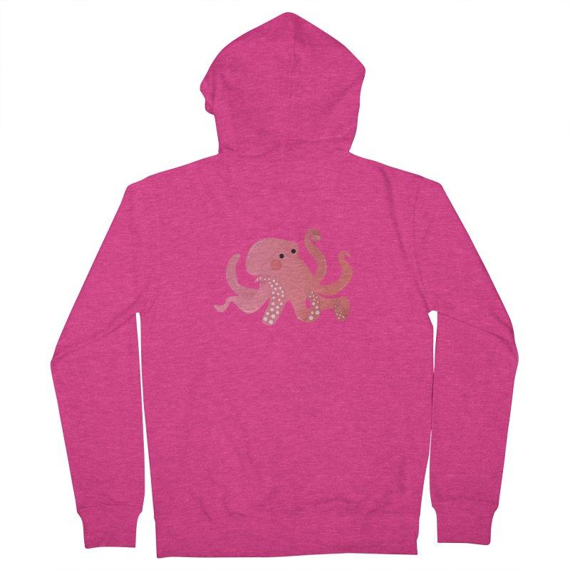 Mermay, Octopus Women's Zip-Up Hoody by theladyernestember's Artist Shop