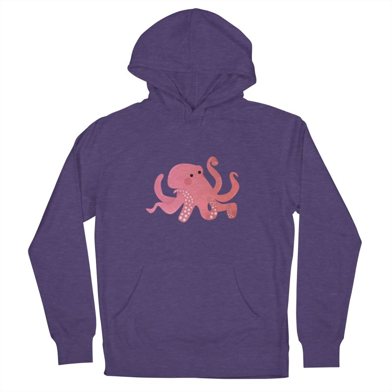 Mermay, Octopus Women's French Terry Pullover Hoody by theladyernestember's Artist Shop