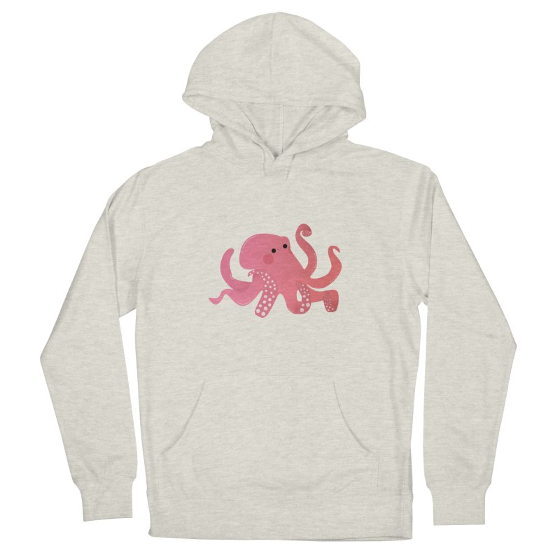 Mermay, Octopus Men's French Terry Pullover Hoody by theladyernestember's Artist Shop