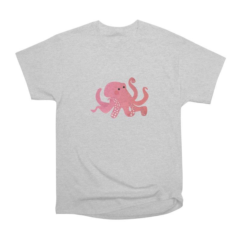 Mermay, Octopus Men's Heavyweight T-Shirt by theladyernestember's Artist Shop