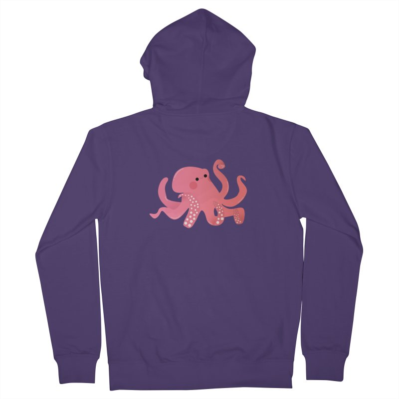 Mermay, Octopus Women's French Terry Zip-Up Hoody by theladyernestember's Artist Shop