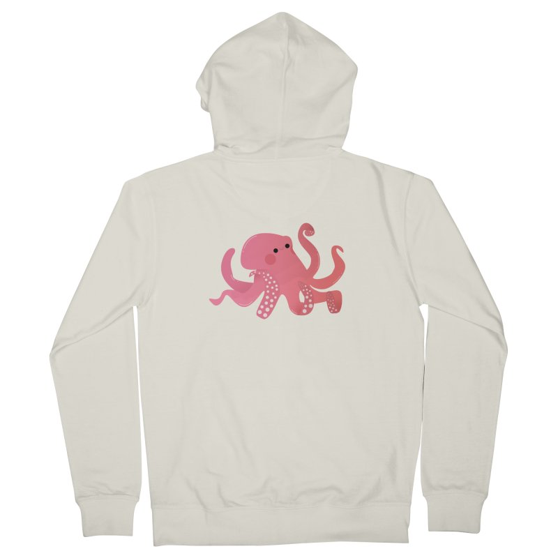 Mermay, Octopus Men's French Terry Zip-Up Hoody by theladyernestember's Artist Shop