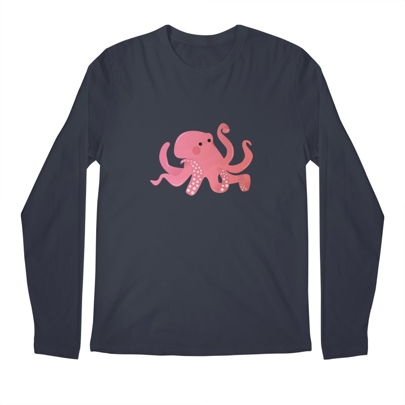 Mermay, Octopus Men's Regular Longsleeve T-Shirt by theladyernestember's Artist Shop