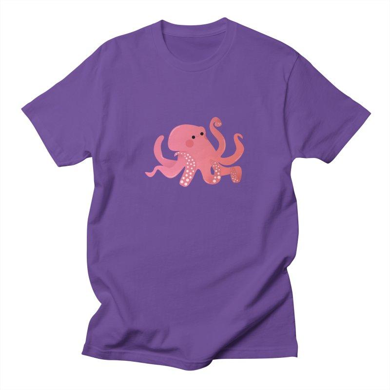 Mermay, Octopus Women's Regular Unisex T-Shirt by theladyernestember's Artist Shop