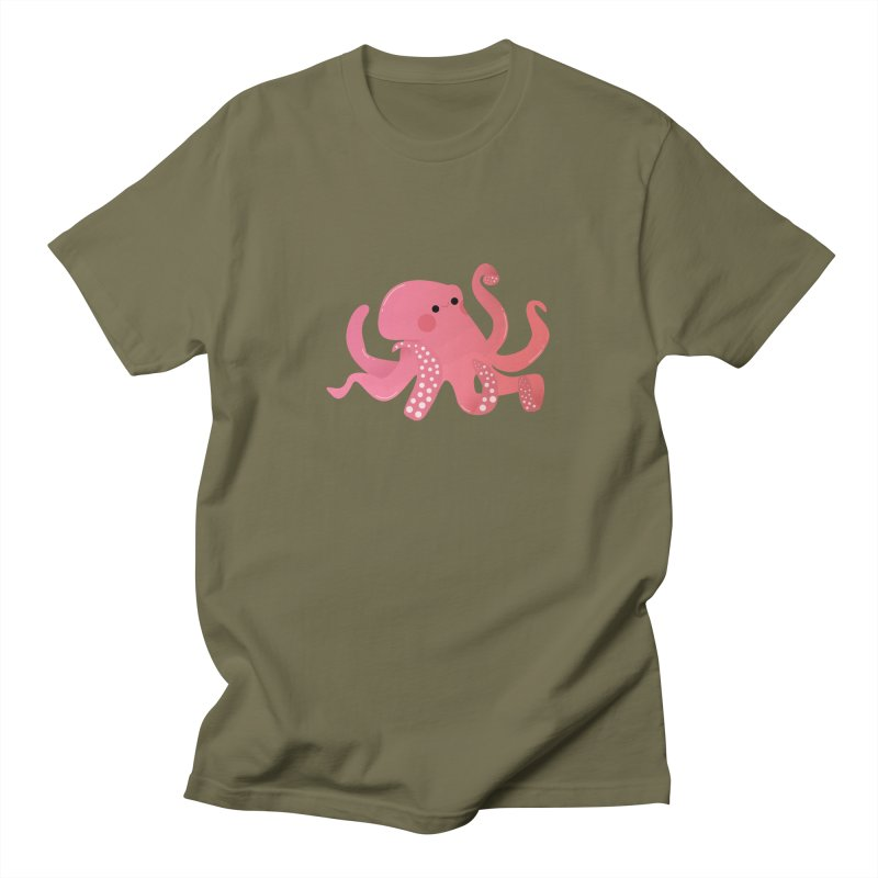 Mermay, Octopus Men's Regular T-Shirt by theladyernestember's Artist Shop