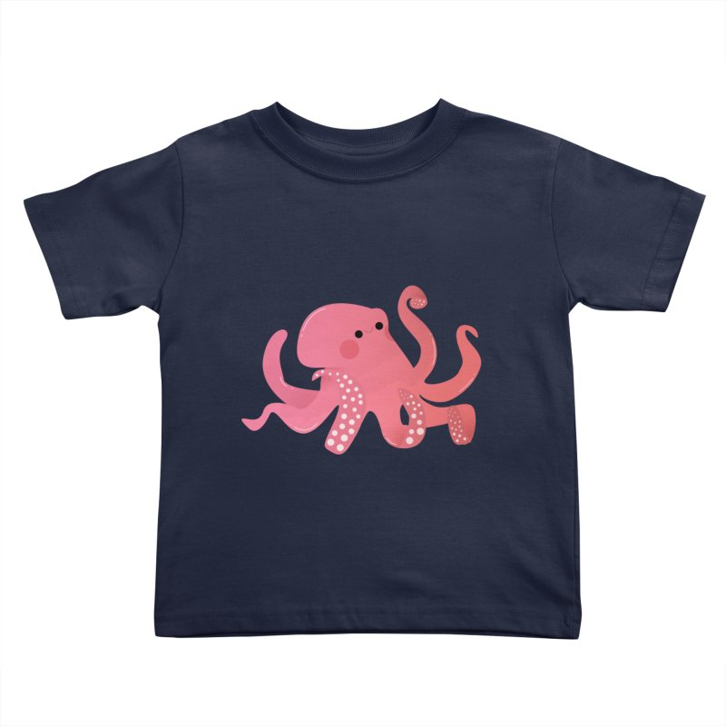 Mermay, Octopus Kids Toddler T-Shirt by theladyernestember's Artist Shop