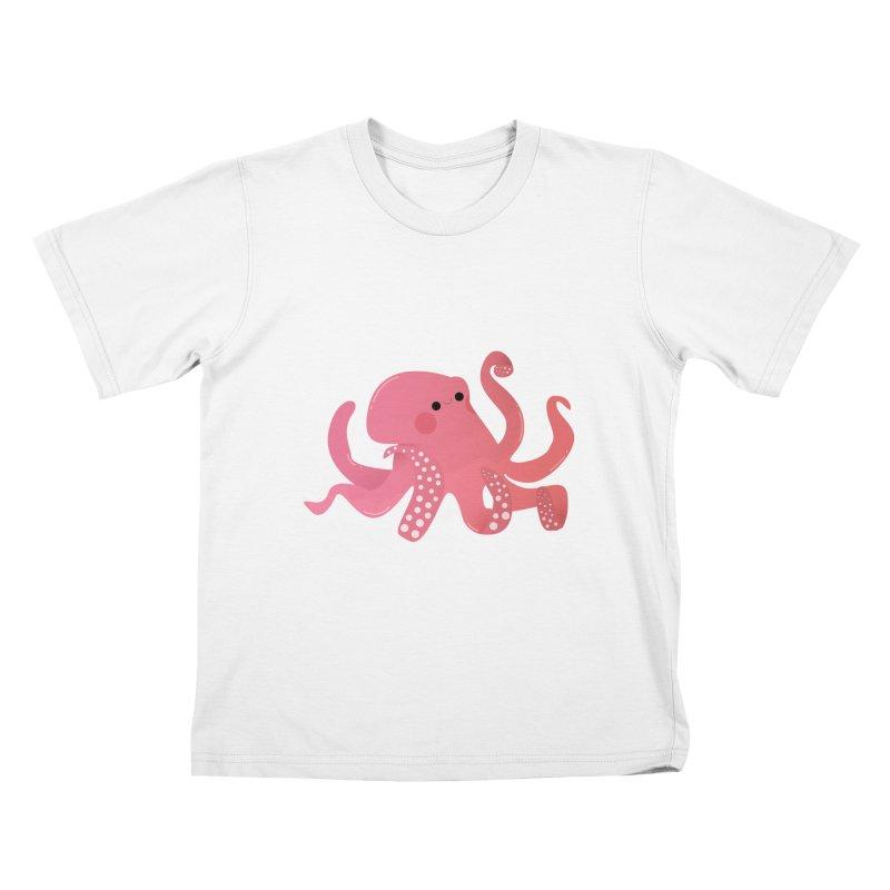 Mermay, Octopus Kids T-Shirt by theladyernestember's Artist Shop