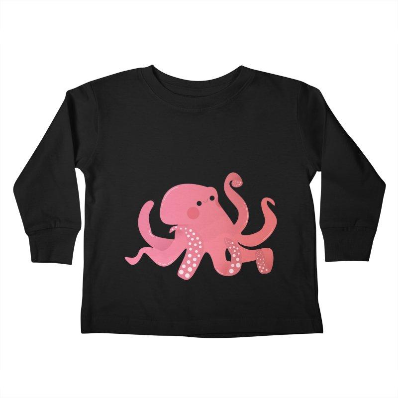Mermay, Octopus Kids Toddler Longsleeve T-Shirt by theladyernestember's Artist Shop