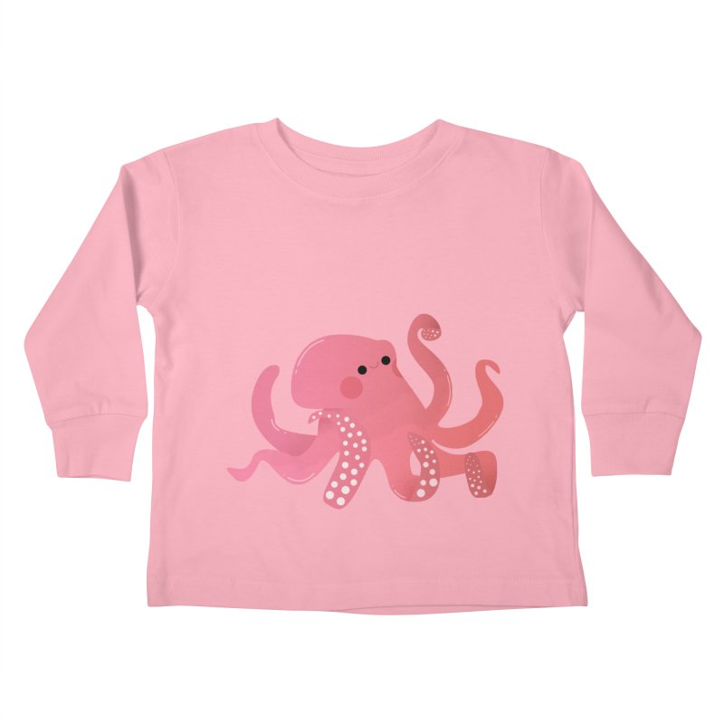 Mermay, Octopus Kids Toddler Longsleeve T-Shirt by theladyernestember's Artist Shop